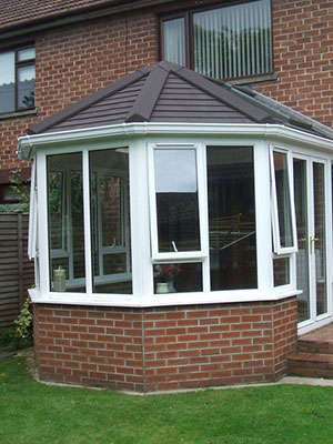 Solid Tile Roof Conservatories Gauduain Efficient
